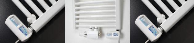Električni grelec za kopalniški radiator