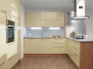 kuhinja z dnevno sobo omogoča velik prostor
