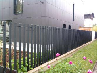 Izdelava modernih ograj