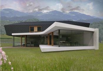 moderna montažna hiša