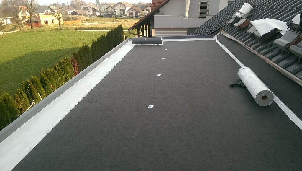 sanacija ravne strehe