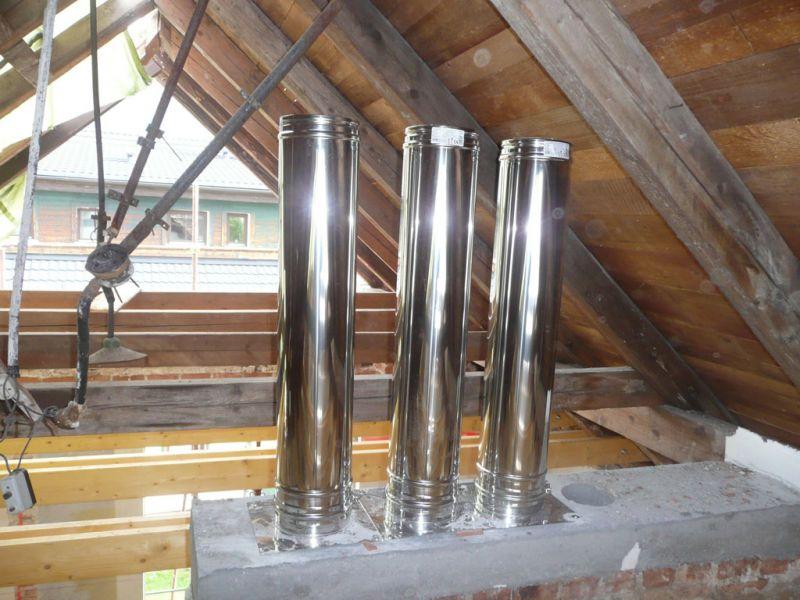 inox cev za dimnik